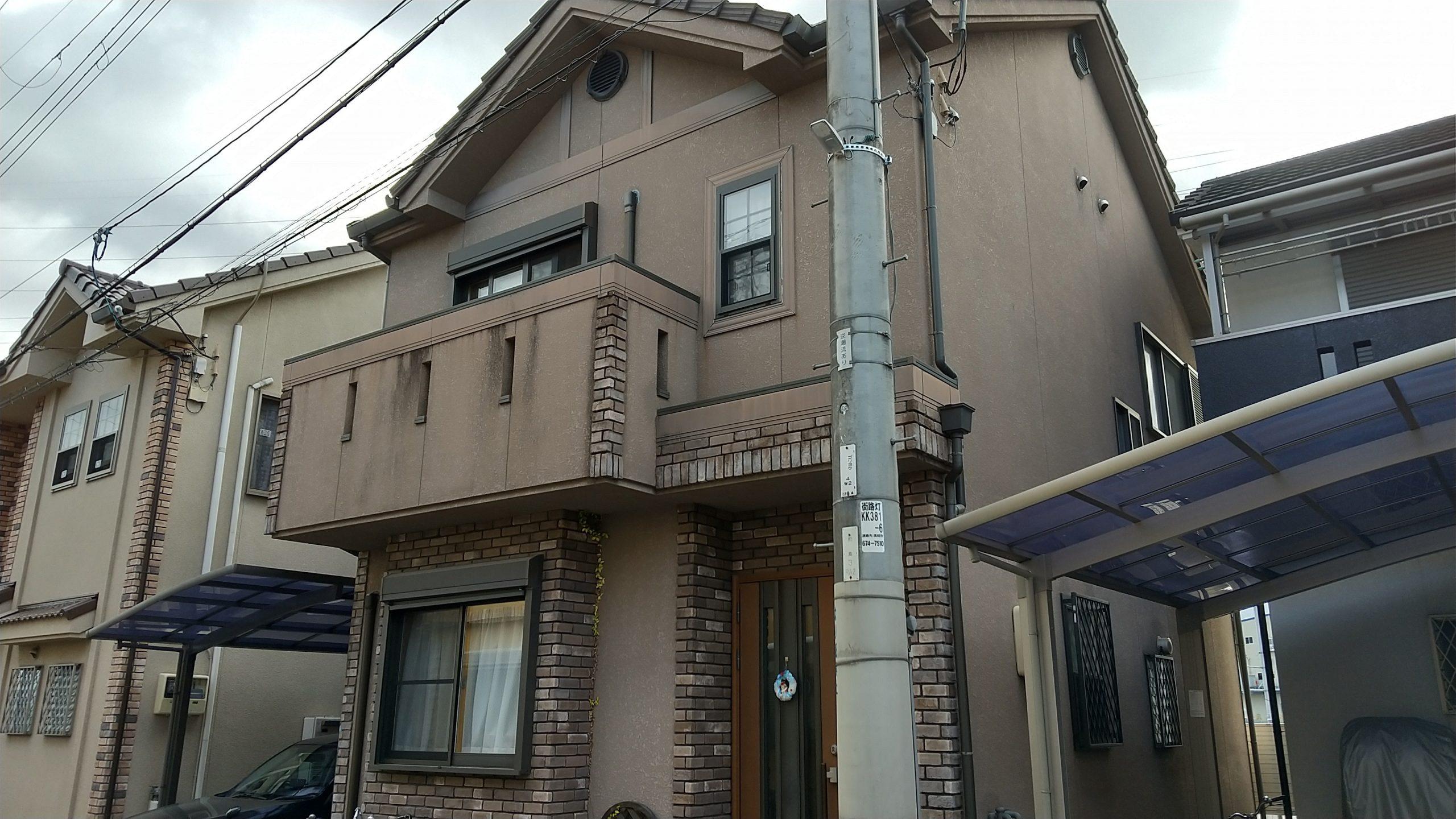高槻市 外壁屋根塗装工事