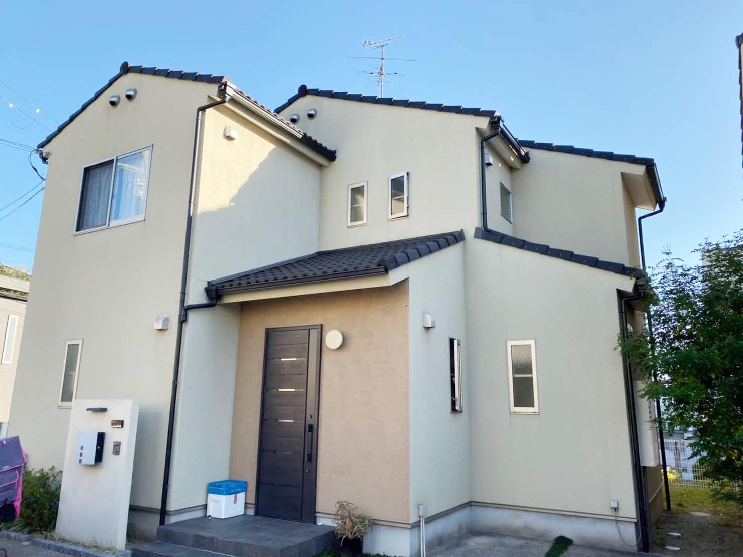 箕面市新稲 外壁・屋根塗装工事