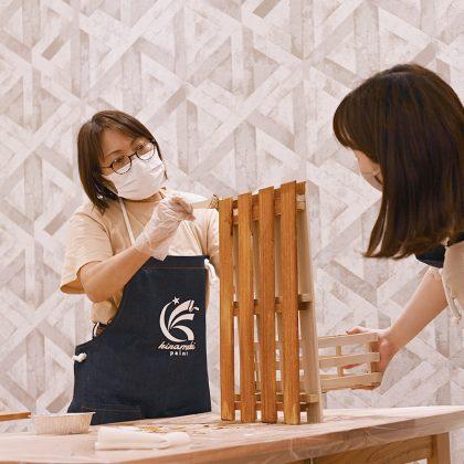 外壁塗装のきらめきペイント高槻店DIY教室