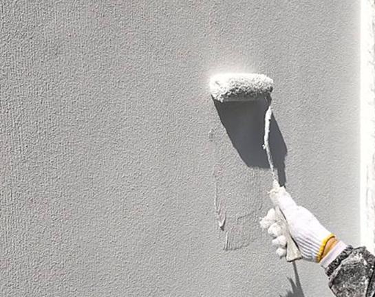 上塗り 外壁