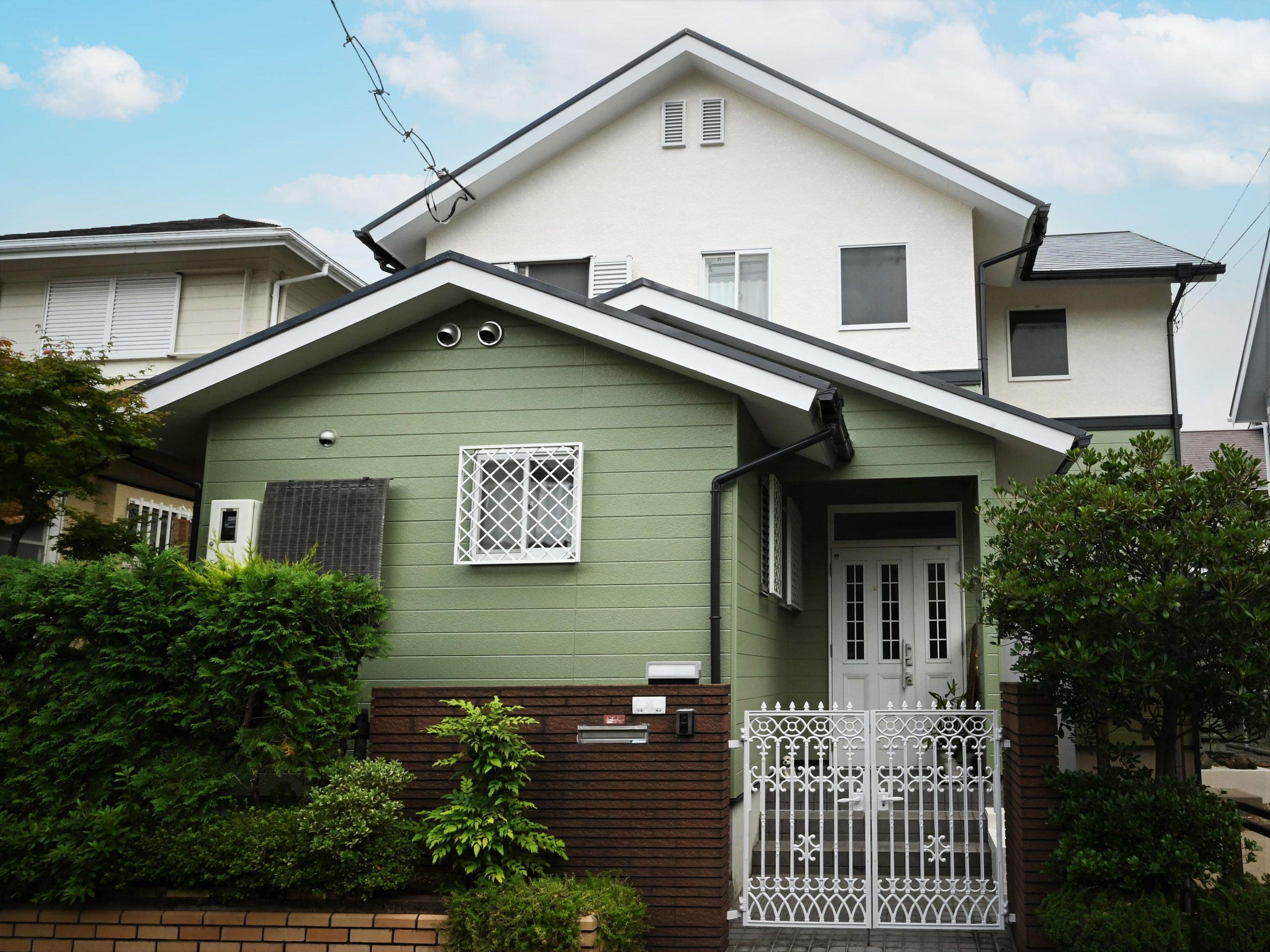 高槻市上土室 外壁塗装・屋根工事