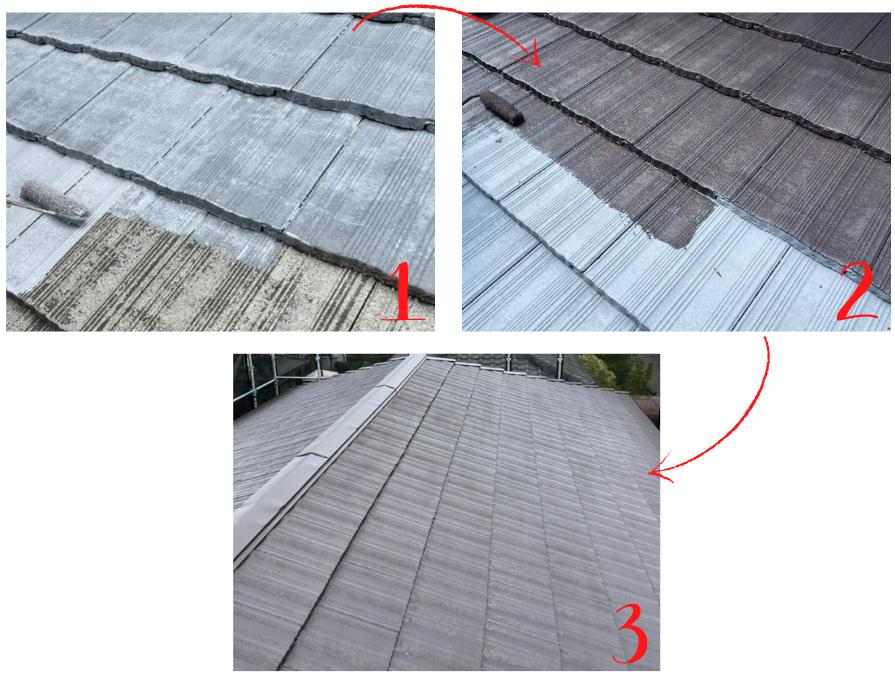 塗装工事 屋根