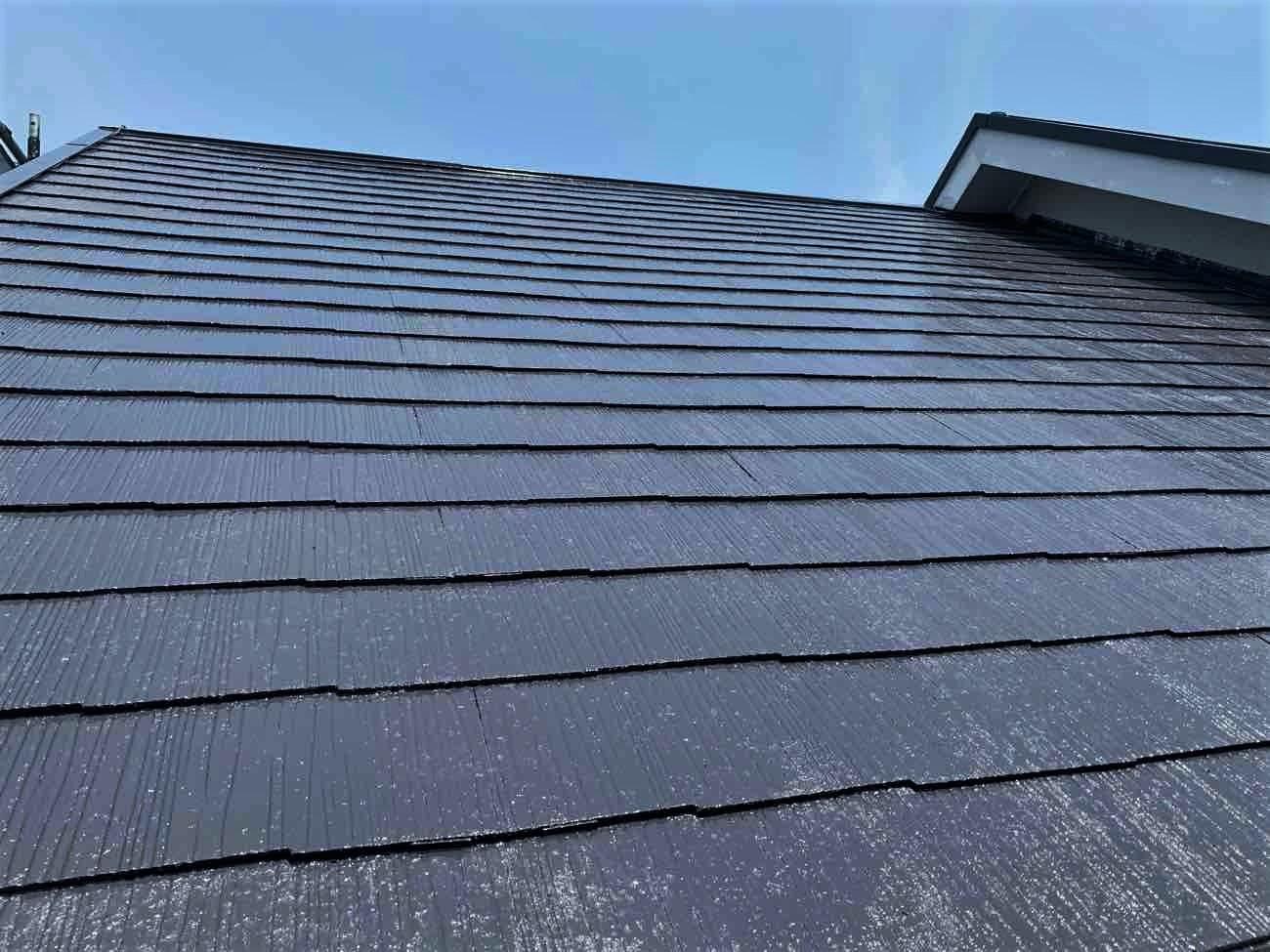 屋根塗装施工